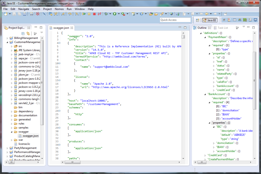 Customer Management API swagger.json